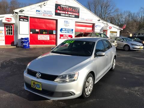 2011 Volkswagen Jetta for sale in Bellingham, MA
