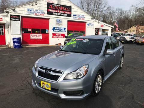 2014 Subaru Legacy for sale in Bellingham, MA
