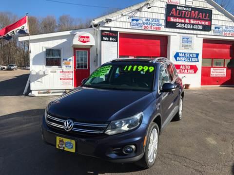 2013 Volkswagen Tiguan for sale in Bellingham, MA