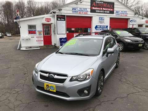 2012 Subaru Impreza for sale in Bellingham, MA