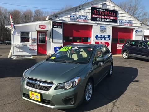2014 Subaru Impreza for sale in Bellingham, MA