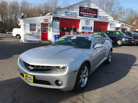 2013 Chevrolet Camaro for sale in Bellingham, MA