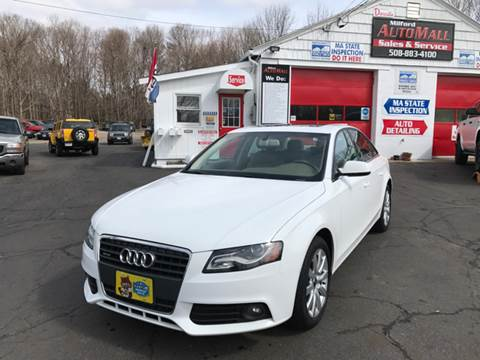 2012 Audi A4 for sale in Bellingham, MA