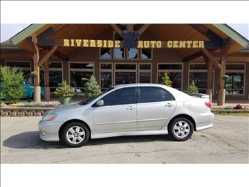 2004 Toyota Corolla for sale at Riverside Auto Center in Bonners Ferry ID