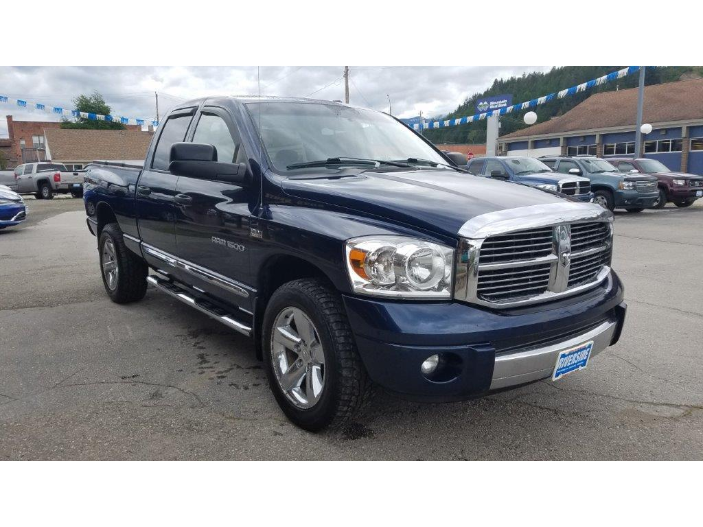 2007 Dodge Ram Pickup 1500 for sale at Riverside Auto Center in Bonners Ferry ID