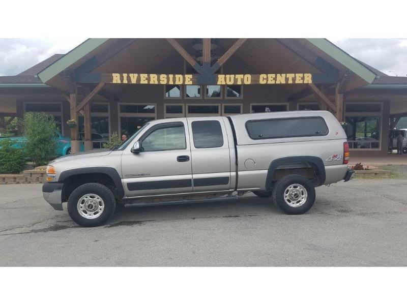 2002 GMC Sierra 2500HD for sale at Riverside Auto Center in Bonners Ferry ID