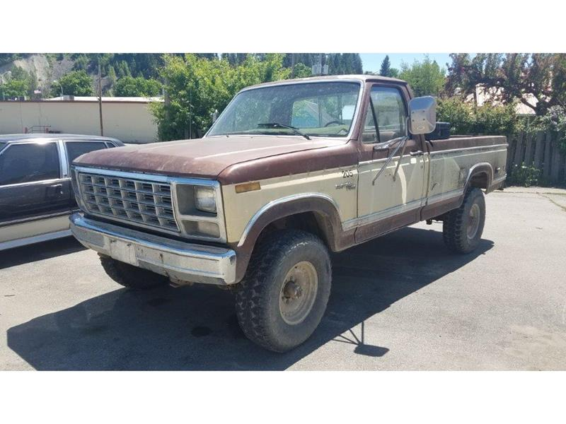 1980 Ford F-250 for sale at Riverside Auto Center in Bonners Ferry ID