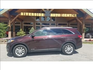 2016 Kia Sorento for sale at Riverside Auto Center in Bonners Ferry ID