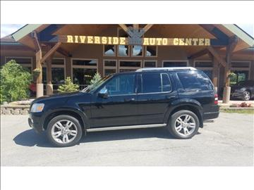 2010 Ford Explorer for sale at Riverside Auto Center in Bonners Ferry ID