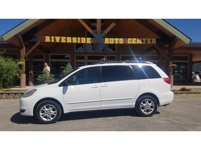 2004 Toyota Sienna for sale at Riverside Auto Center in Bonners Ferry ID