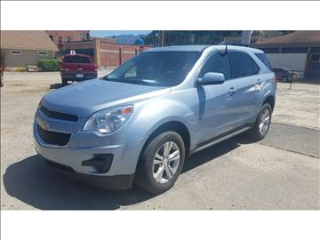 2014 Chevrolet Equinox for sale at Riverside Auto Center in Bonners Ferry ID