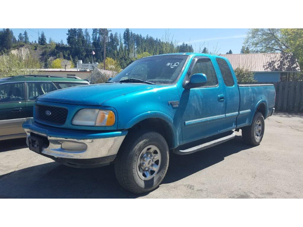 1998 Ford F-250 for sale at Riverside Auto Center in Bonners Ferry ID