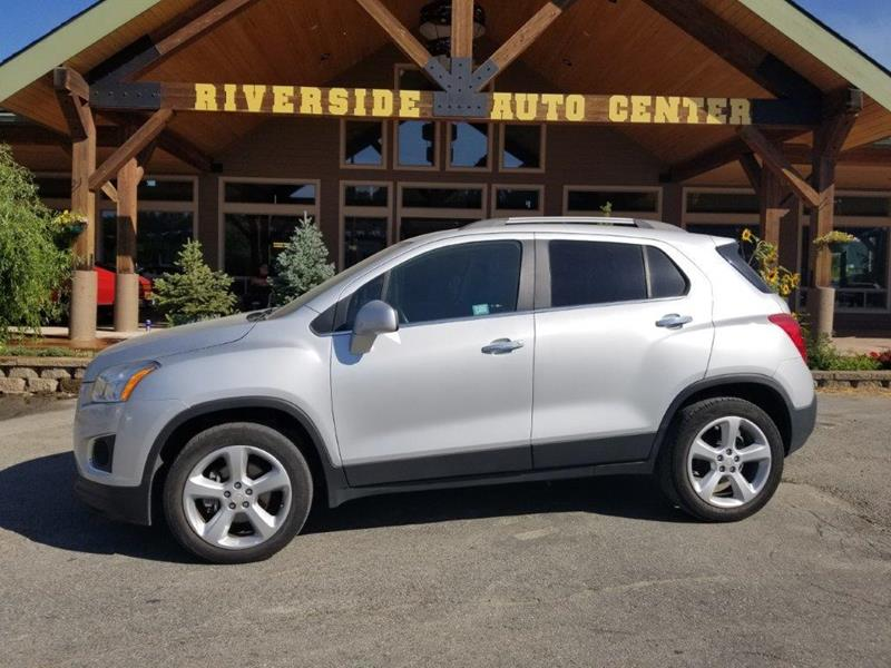 2016 Chevrolet Trax for sale at Riverside Auto Center in Bonners Ferry ID