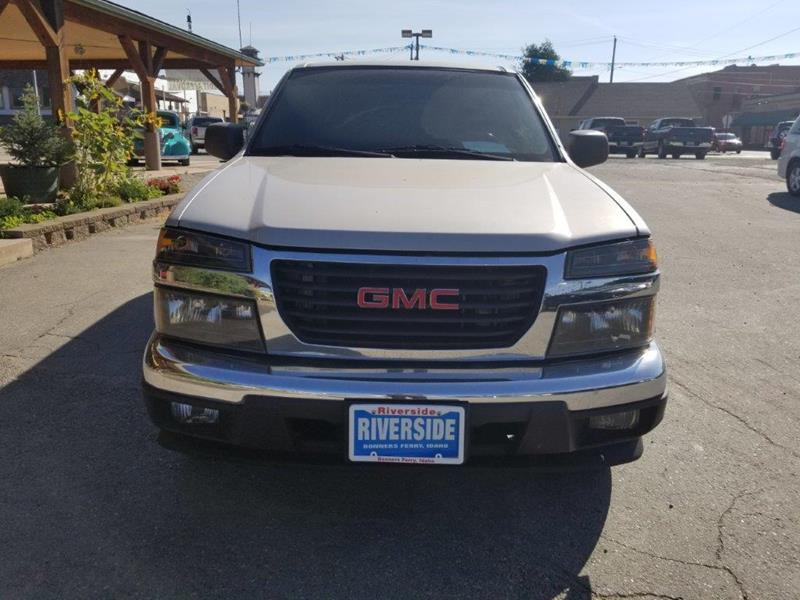 2008 GMC Canyon for sale at Riverside Auto Center in Bonners Ferry ID