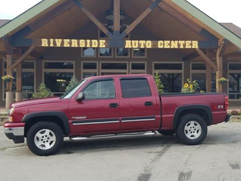 2006 Chevrolet Silverado 1500 for sale at Riverside Auto Center in Bonners Ferry ID