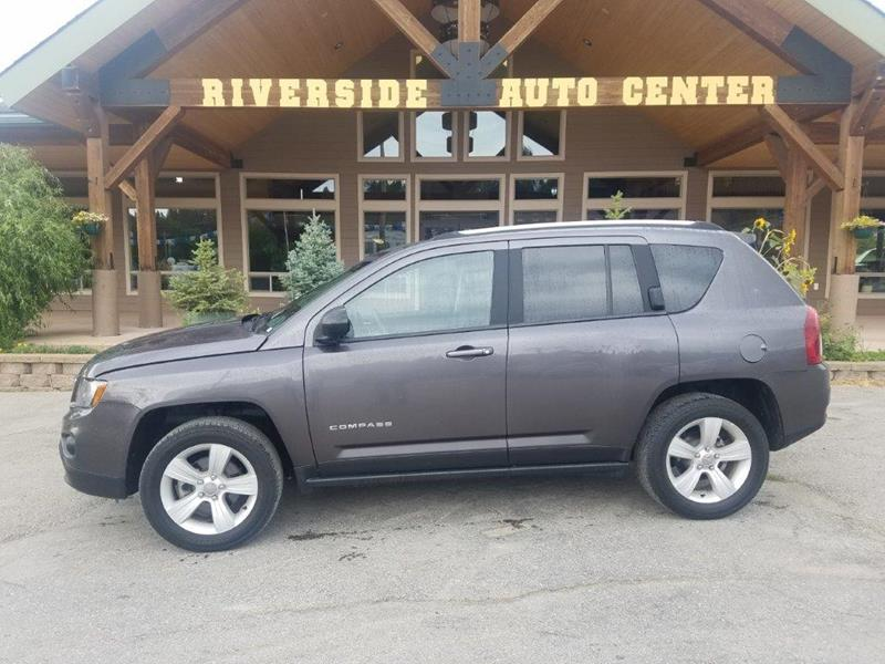 2016 Jeep Compass for sale at Riverside Auto Center in Bonners Ferry ID