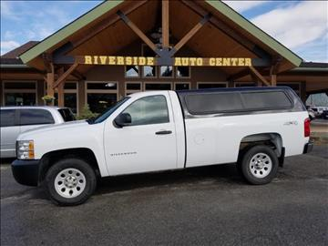 2013 Chevrolet Silverado 1500 for sale at Riverside Auto Center in Bonners Ferry ID