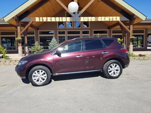 2013 Nissan Murano for sale at Riverside Auto Center in Bonners Ferry ID