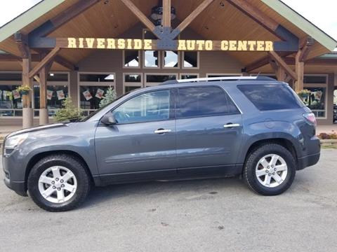 2013 GMC Acadia for sale at Riverside Auto Center in Bonners Ferry ID