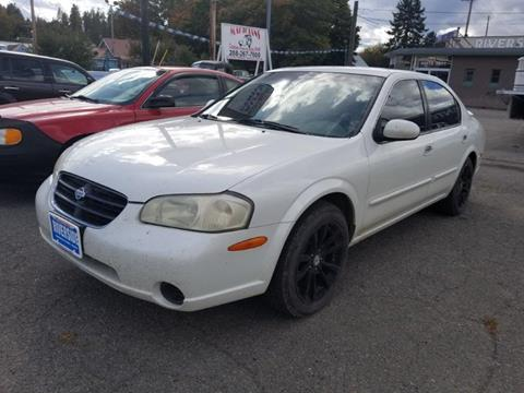 2000 Nissan Maxima for sale at Riverside Auto Center in Bonners Ferry ID