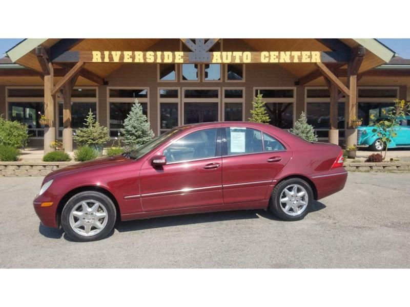 2003 Mercedes Benz C Class For Sale At Riverside Auto Center In Bonners  Ferry