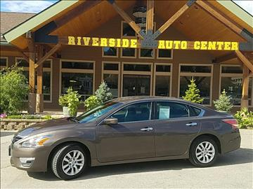 2015 Nissan Altima for sale at Riverside Auto Center in Bonners Ferry ID