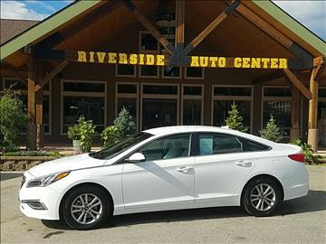 2016 Hyundai Sonata for sale at Riverside Auto Center in Bonners Ferry ID