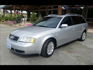 2000 Audi A6 for sale at Riverside Auto Center in Bonners Ferry ID