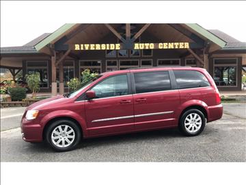 2016 Chrysler Town and Country for sale at Riverside Auto Center in Bonners Ferry ID