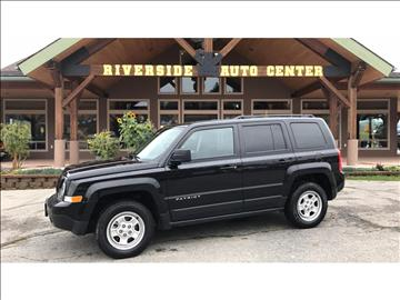 2016 Jeep Patriot for sale at Riverside Auto Center in Bonners Ferry ID