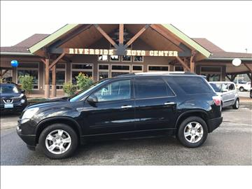 2012 GMC Acadia for sale at Riverside Auto Center in Bonners Ferry ID