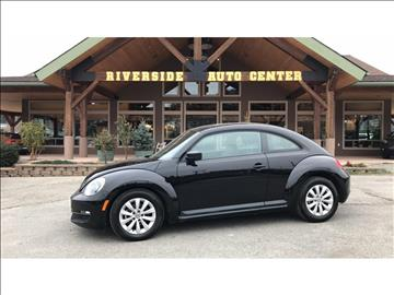 2015 Volkswagen Beetle for sale at Riverside Auto Center in Bonners Ferry ID