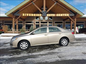 2010 Toyota Corolla for sale at Riverside Auto Center in Bonners Ferry ID