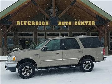 2002 Ford Expedition for sale at Riverside Auto Center in Bonners Ferry ID