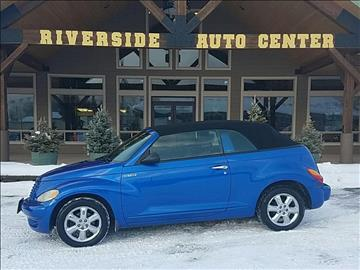 2005 Chrysler PT Cruiser for sale at Riverside Auto Center in Bonners Ferry ID
