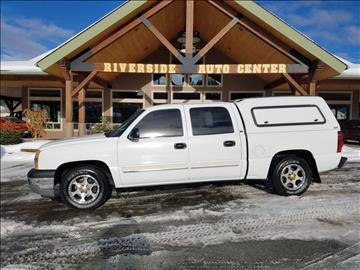2005 Chevrolet Silverado 1500 for sale at Riverside Auto Center in Bonners Ferry ID
