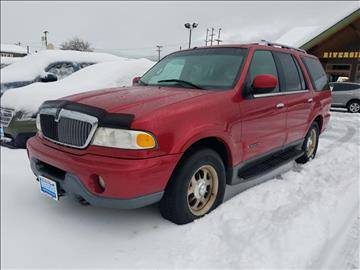 2002 Lincoln Navigator for sale at Riverside Auto Center in Bonners Ferry ID
