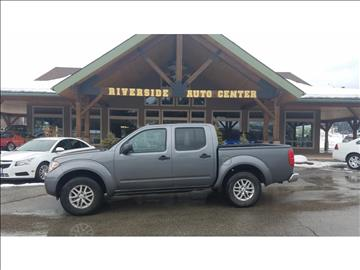 2016 Nissan Frontier for sale at Riverside Auto Center in Bonners Ferry ID
