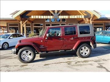 2009 Jeep Wrangler Unlimited for sale at Riverside Auto Center in Bonners Ferry ID