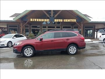 2015 Subaru Outback for sale at Riverside Auto Center in Bonners Ferry ID