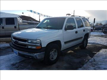 2004 Chevrolet Tahoe for sale at Riverside Auto Center in Bonners Ferry ID