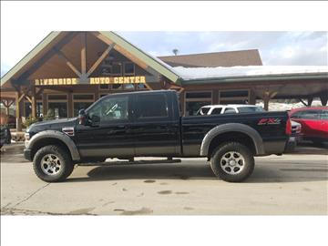 2008 Ford F-350 Super Duty for sale at Riverside Auto Center in Bonners Ferry ID