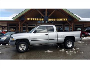 2001 Dodge Ram Pickup 1500 for sale at Riverside Auto Center in Bonners Ferry ID