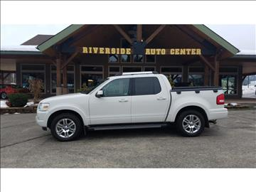 2010 Ford Explorer Sport Trac for sale at Riverside Auto Center in Bonners Ferry ID