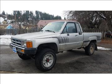 1987 Toyota Pickup for sale at Riverside Auto Center in Bonners Ferry ID