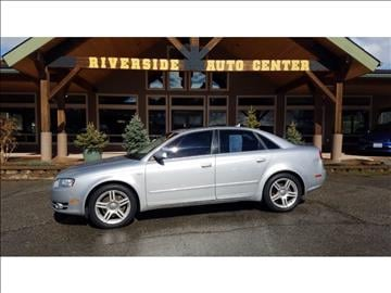 2007 Audi A4 for sale at Riverside Auto Center in Bonners Ferry ID