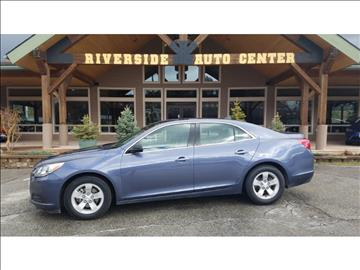 2014 Chevrolet Malibu for sale at Riverside Auto Center in Bonners Ferry ID