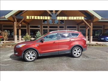 2015 Ford Escape for sale at Riverside Auto Center in Bonners Ferry ID
