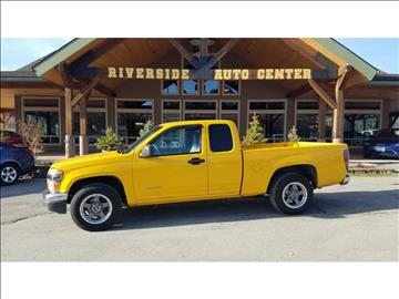 2005 Chevrolet Colorado for sale at Riverside Auto Center in Bonners Ferry ID