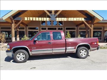 1999 Chevrolet Silverado 1500 for sale at Riverside Auto Center in Bonners Ferry ID